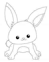 baby rabbit coloring pages photo 834915 gianfreda net