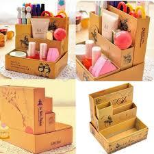 Makeup Organizer Desk by Hot Sale Paper Board Storage Box Desk Decor Stationery Diy Makeup