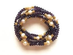 stacking bracelets stacking bracelets cleopatra amethyst and fresh water