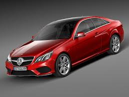 3d class price mercedes e class amg coupe 2015 3d model cgstudio