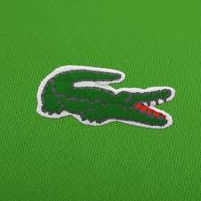 Greece Flag Emoji Lacoste Logo Embroidery Designs