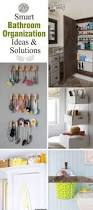 Organizing Bathroom Ideas 25 Smart Bathroom Organization Ideas U0026 Solutions