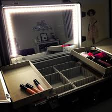 Make Up Vanity Case Mirrors Make Up Vanity With Lighted Makeup Mirror White Makeup