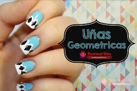 figuras geometricas uñas uñas con figuras geometricas youtube