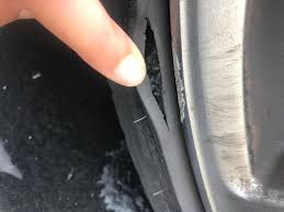 new lexus tires lexus is f curb damage on tire do i need to replace help motor