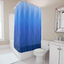 Purple Ombre Curtains Blue Ombre Shower Curtains Zazzle