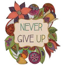 never give up inspirational quote by valentina harper no matter i think applies to hamlet no matter what he had to do he kept going