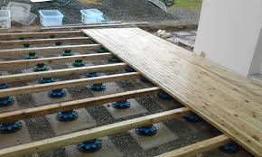 photo terrasse composite poser une terrasse composite sur plots wasuk