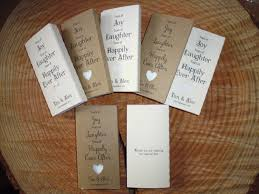 10 rustic personalised pocket tissues wedding favours enchanted