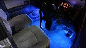 Led Strip Lights For Car Interior by Diy Led Strip Light Kit For Car Youtube