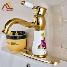 6 inch kitchen sink faucet fashion style basin bathroom faucet deck mounted with 6 inch hole