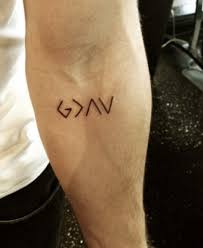 god is greater than the highs and lows this