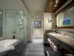 bathroom 2017 opulent modern spa bathroom with drop in bathtub