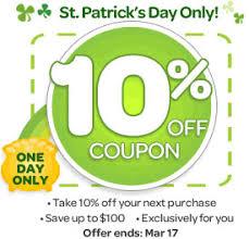 randomn3ss u2014 ebay st patrick u0027s day 10 off coupon code