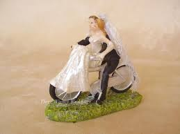 bicycle cake topper three wishes weddings home cake toppers comical comical