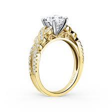 wedding rings gold mixed metal engagement rings brides