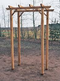 Building A Freestanding Pergola by How To Build A Simple Pergola Pergola Gazebo Ideas