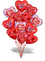 balloon and delivery send balloon delivery happy birthday balloons hearts shaped