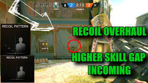 siege gap predictable recoil blitz kapkan buff tts rainbow six
