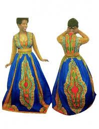 african print deep v neck long sleeve maxi dress u2013 thedashiki com