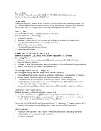 Sample Resume For Internship In Accounting by Resume Samples Vault Com