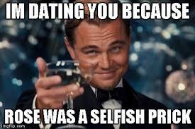 Selfish Meme - leonardo dicaprio cheers meme imgflip