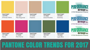 pantone color forecast 2017 pantone color trends for 2017 performance group inc