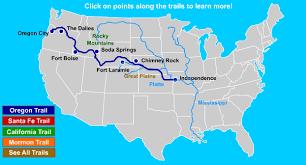 map of oregon mo oregon santa fe california trails independence missouri