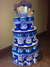 how much is a 30 rack of bud light bud light beer can cake great gifts for dads guys in general the