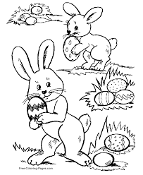 easter egg hunt coloring pages many interesting cliparts
