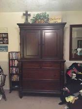 Armoire Cherry Wood Solid Wood Armoires And Wardrobes Ebay