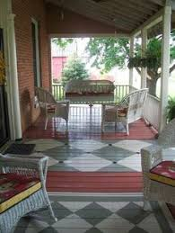 how to paint concrete to look like brick sidewalk stenciling