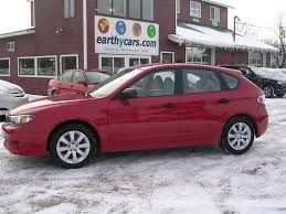 subaru red earthy cars blog earthy car of the week 2008 red subaru impreza 2 5