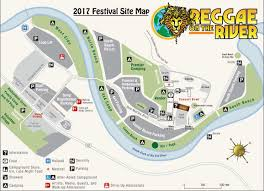 Site Map Site Map U2013 Reggae On The River Festival