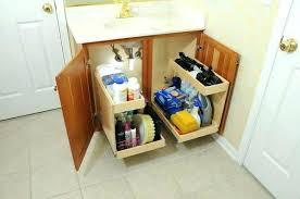 under cabinet storage shelf bathroom vanity storage arealive co