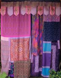 Hippie Drapes Interior Trippy Window Curtains Hippie Curtains Gypsy Curtain