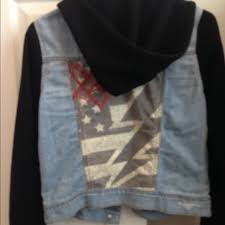 64 off pacsun jackets u0026 blazers young and reckless jean jacket