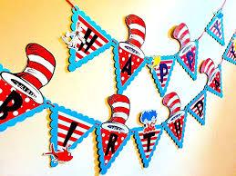 dr seuss party decorations dr seuss birthday banner dr seuss banner dr seuss