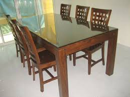 Dining Tables And 6 Chairs Brilliant 6 Chair Dining Tables On Modern Chair Design With