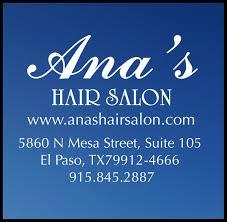 ana u0027s hair salon 5860 n mesa st 105 el paso tx hair salons