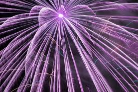 Purple Color Names And Functions Of Chemical Elements In Fireworks
