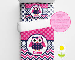 Owl Bedding For Girls by Personalized Unicorn Bedding For Kids Unicorn Duvet Or