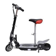 siege bebe scooter homcom trottinette patinette électrique pliable plus de 8 ans 120w