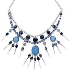 light blue statement necklace henri bendel semi statement necklace 875 ils liked on polyvore