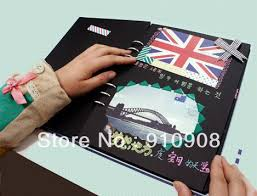 cool photo albums diy wire binding album yearbook cool gift photo album 35 pages in