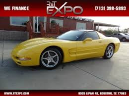 corvette houston tx used chevrolet corvette for sale in houston tx 137 used