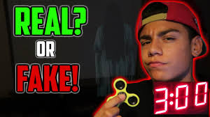 Challenge Real 3am Fidget Spinner Challenge Real Or