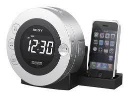 sony cd clock radio for ipod and iphone icf cd3ipsil walmart com