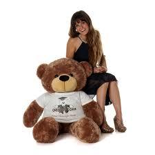 personalized graduation teddy size 4ft personalized graduation teddy vanilla cozy