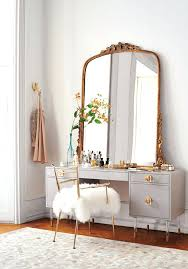 white vanity table with mirror u2013 thelt co